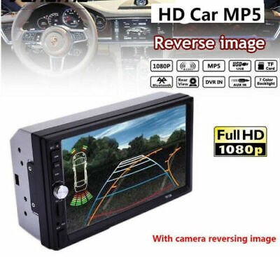 2DIN  Car Radio Stereo BT Touch Screen MP5 Player/USB/TF/AUX Head Unit