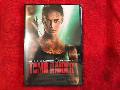 Tomb Raider (DVD, 2018) Brand NEW** Action, Adventure, NOW SHIPPING FREE in USA!