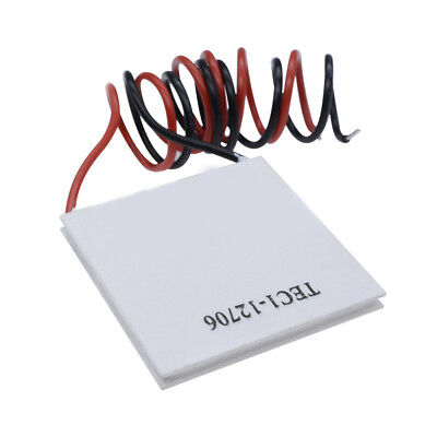 Practical TEC1-12706 Heatsink Thermoelectric Cooler Cooling Plate Module 12V 60W