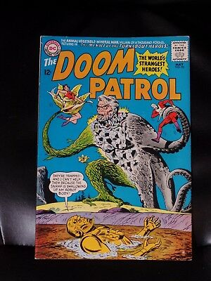 Doom Patrol #95 Very Fine No Reserve