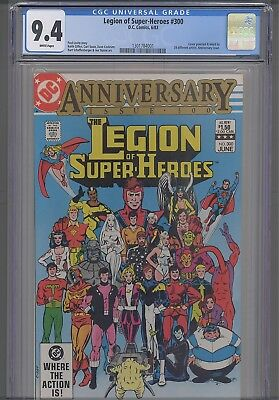 Legion of Super Heroes #300  CGC 9.4 1988 DC Anniversary Issue  Comic: New Frame