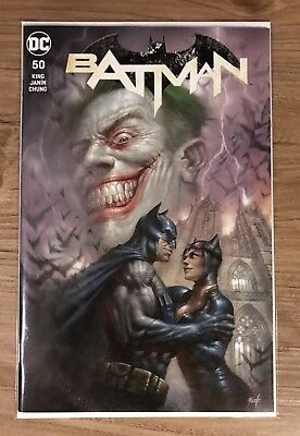 Batman #50 Lucio Parrillo Trade Dress Color Variant Catwoman Joker Wedding Issue