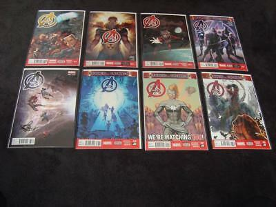 Avengers Mixed Modern Age Lot Of 22