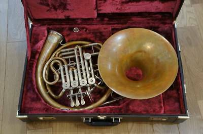 YAMAHA YHR-832GD French Horn Musical Music Instrument Used Rare