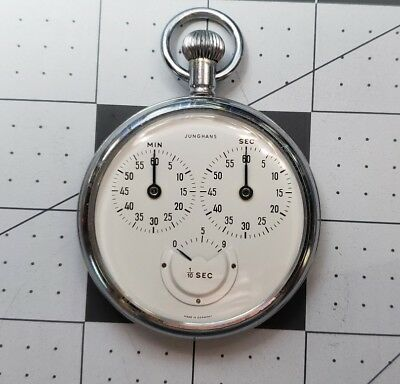 ULTRA RARE! WW2 1930's-1940's Junghans Stopwatch EXCELLENT CONDITION