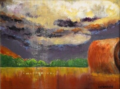 Acrylic on Canvas Impressionist Landscape Painting by Charmaine O'Rourke 24x18