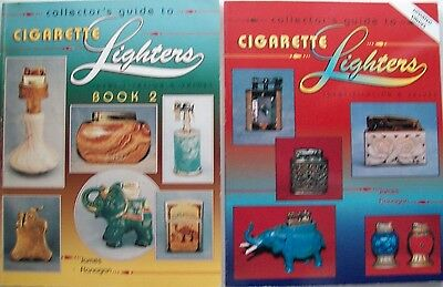 2 Books Vintage Cigarette LIGHTER'S $$$ id Price Value Guide Collector's Books