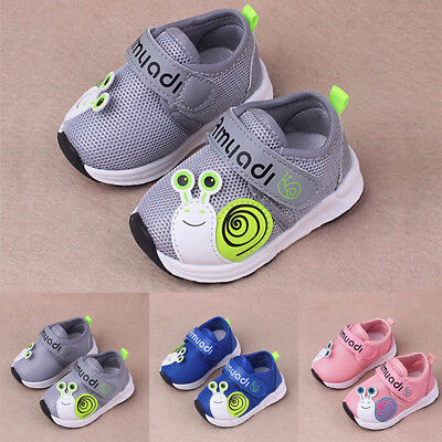 Toddler Kids Baby Boys Girls Mesh Soft Sole Sport Running Shoes Sneakers Trainer
