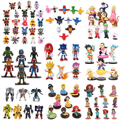 Super Wing/Gragon Ball/Sonic/Princess/The Avengers/Monster/Super Mario Bros Toys