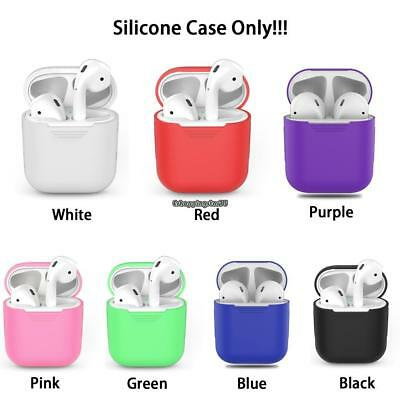 Silicone Earphone Charging Protective Case Skin Cover For Air Pods EH7E