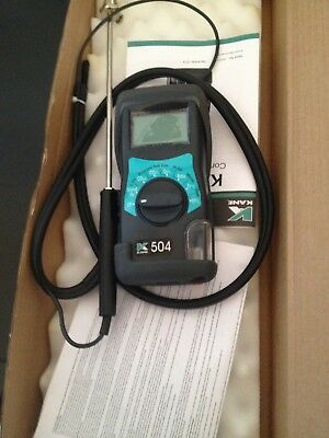 Kane 504 Boiler Flue Gas Analyser, one week old, only used once!!!