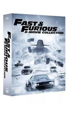 Fast And Furious 1-8 Complete Movie Collection Dvd Box Set Brand New And Sealed