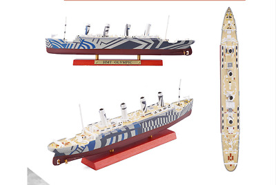 1/1250 Finished Cruise Ship Boat Model  Collection ATLAS  HMT OLYMPIC