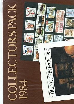 GB - ROYAL MAIL POSTERS - A3 - 1984 -  for COLLECTORS PACK 1984