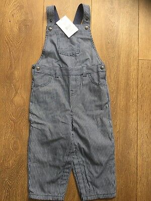 BNWT Little White Company Dungarees - Size 18-24 Months