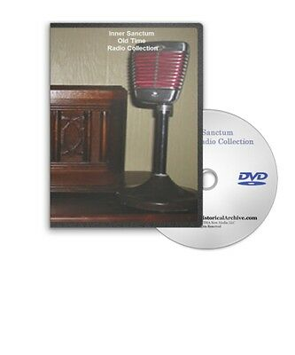 Inner Sanctum Horror Mystery Old Time Radio OTR 171 Shows on MP3 DVD - A233