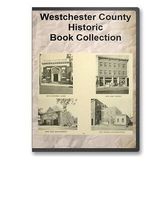 Westchester County NY New York History Culture Genealogy 16 Book Set - D13