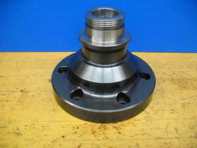 A2-6 5C CNC LATHE COLLET NOSE W/COLLET DRAW TUBE ADAPTER 72mm X 1.5