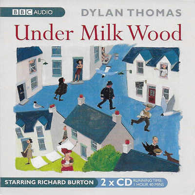 Dylan Thomas - UNDER MILK WOOD - Full Cast Dramatisation CD Audio Book Burton