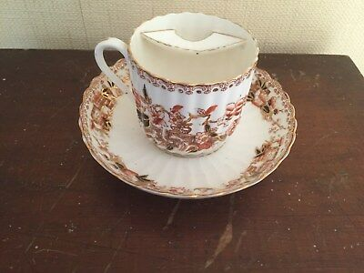 antique mustache cup and saucer