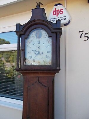 Antique Long Case clock by JOSh DENTON.HULL