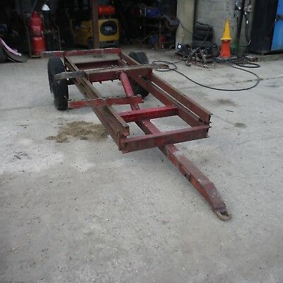 Tipping Trailer Chassis