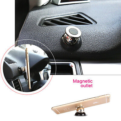 Universal 360° Car Mount Sticky Magnetic Stand Holder For Cell mobile Phone GPS
