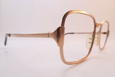 Vintage gold filled Marwitz Optima eyeglasses frames size 56-20. 140 Germany