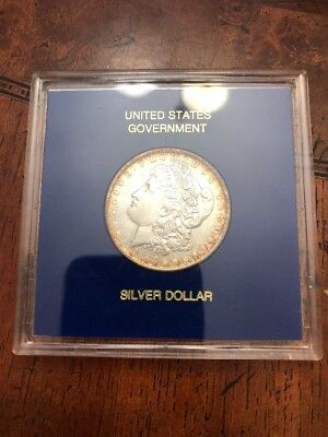 1888 Morgan Silver Dollar Encased