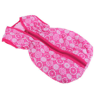 Doll Accessory for 18inch American Girl Travel Sleeping Bag Carrier Pink