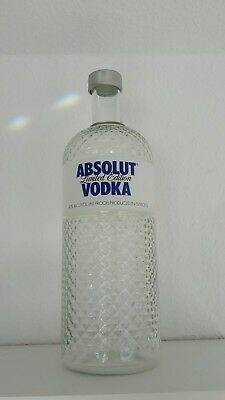 Absolut Vodka Glimmer Flasche, 7 Liter, Showflasche