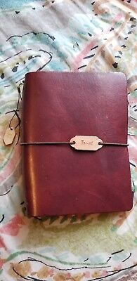 New Chic Sparrow Odessey Siren Travelers Notebook