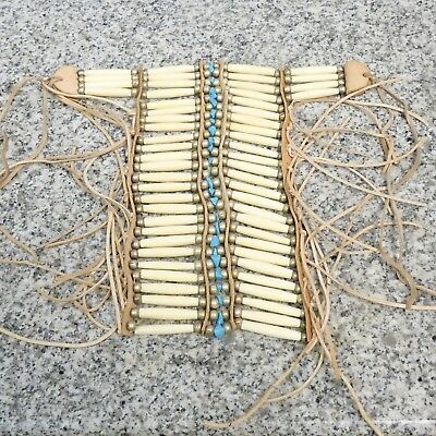 NATIVE AMERICAN STYLE BREASTPLATE Choker - HAND CRAFTED