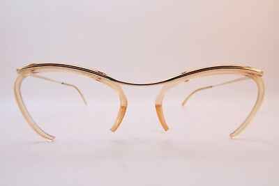 Vintage 50s gold filled eyeglasses frames ETOILE Doublé Or Laminé France