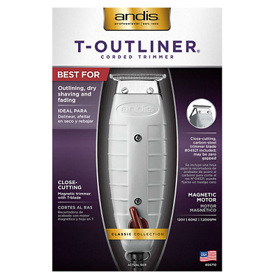 Andis Professional T-Outliner Trimmer w T-Blade, #04710