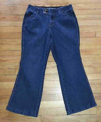 Lane Bryant Blue Jeans Sz 14 34x29 Flare Tighter Tummy Technology p3147