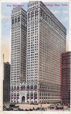 Ansichtskarte Equitable Building, New York