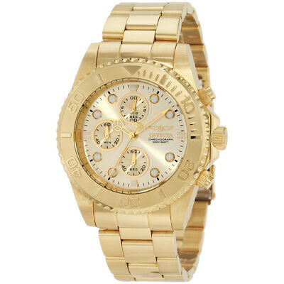 Invicta  Pro Diver 1774  Stainless Steel Chronograph  Watch