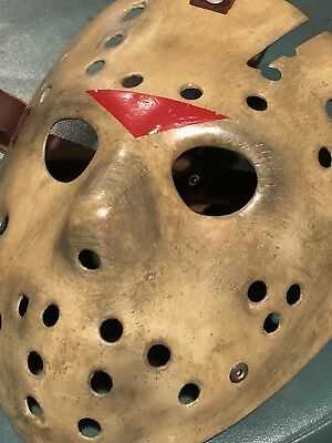 Friday the 13th part 6 Jason Lives - Jason Voorhee's Hockey Mask Prop Replica