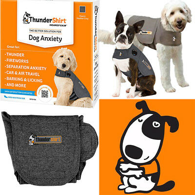 ThunderShirt Classic Dog Anxiety Jacket USED