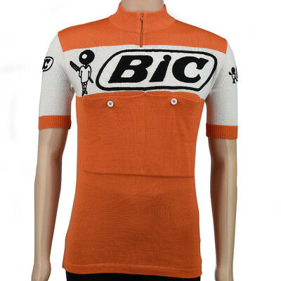 c80476765 VV CLASSICS BIC vintage style merino wool cycling jersey - Eroica - EUR  125