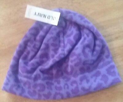 Old Navy Girl's Performance Fleece Beenie  Hat S-M New with tag
