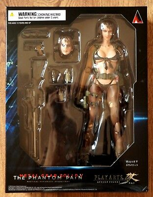 NEW SEALED Metal Gear Solid V The Phantom Pain Play Arts Kai Quiet Action Figur