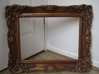 stunning large gilt ornate picture frame for picture painting..