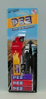 2009 PEZ Hollywood Video Promo Red Semi Truck NEW!