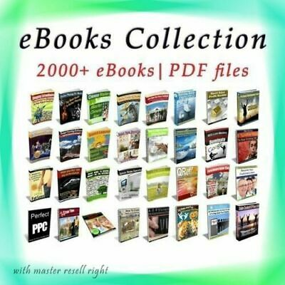 50,000 eBooks Zip file Pdf + word Format With 2000 Master Resell
