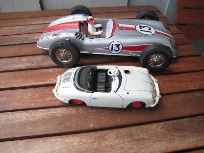 Porsche Tipp&Co Made in Western Germany + Joustra Made in France (Bastlerautos)