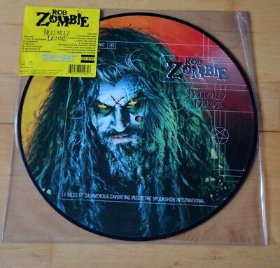 Rob Zombie - Hellbilly Deluxe (Vinyl LP, Ltd, Pic, RE) Geffen Records & MP3 Code