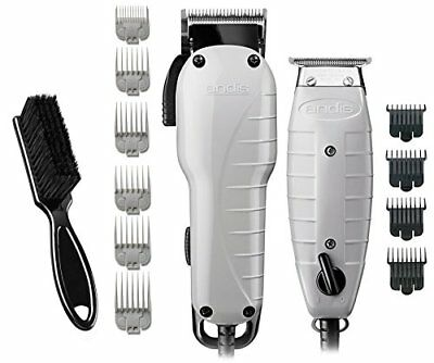 Andis Barber Combo 66325 with BeauWis Blade Brush