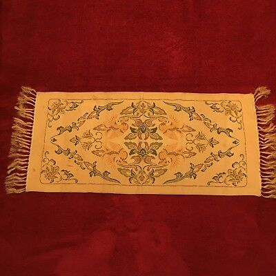 Vintage Japanese Table Runner Hakata Ori Weave (2)